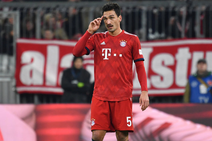 Mats Hummels has struggled to nail down a regular spot for Bayern Munich this season