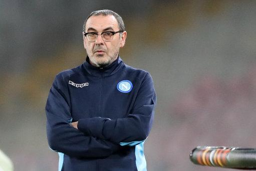 Sarri was not a hit with his bosses at Napoli