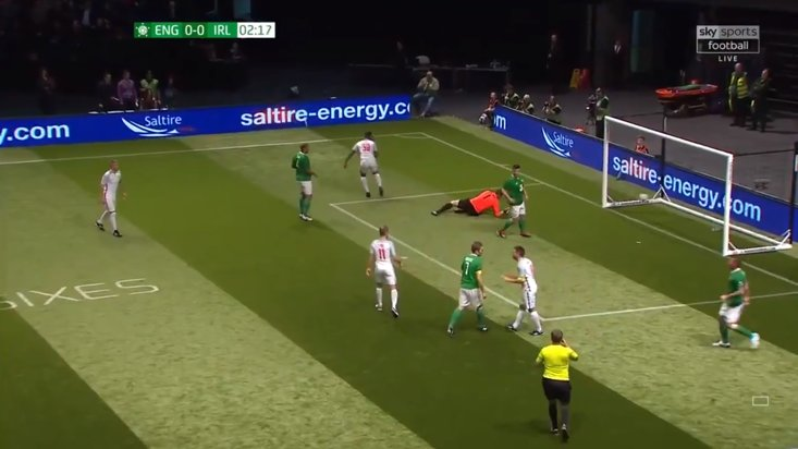 Jason McAteer Kicks Michael Owen, Sent Off During Star Sixes Match