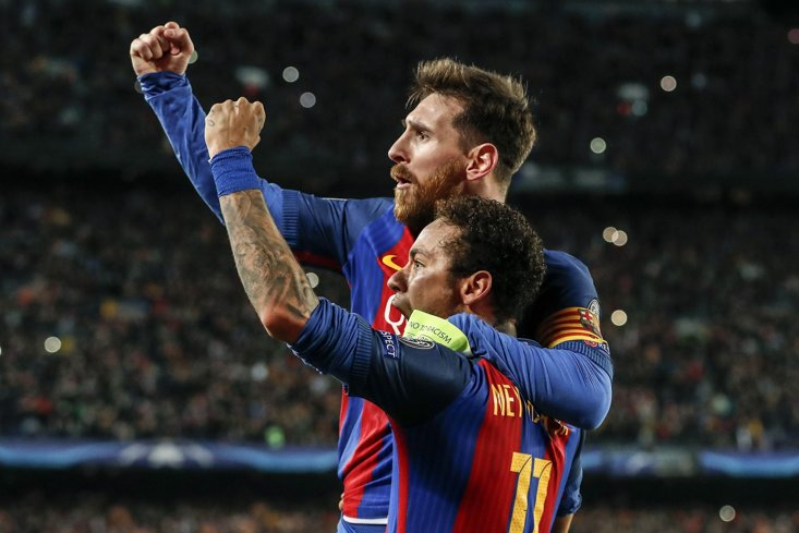 Messi wants Neymar back at the Nou Camp
