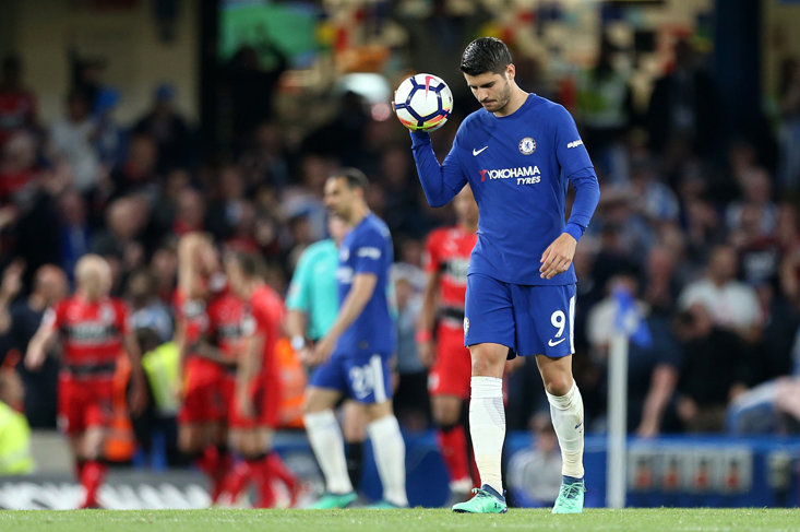 Sarri wants more tears from Morata after his emotional celebration against Vidi