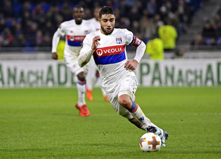 Nabil Fekir is being linked with a move away from Lyon in the January transfer window