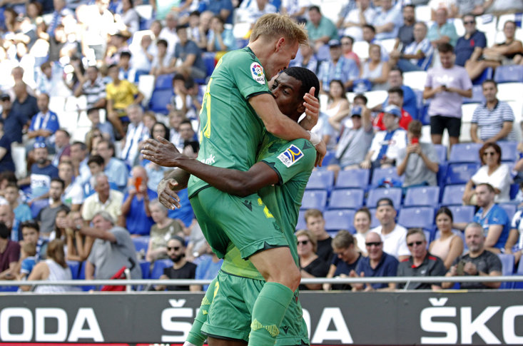 Isak and Odegaard linked up for the winner against Celta Vigo last weekend