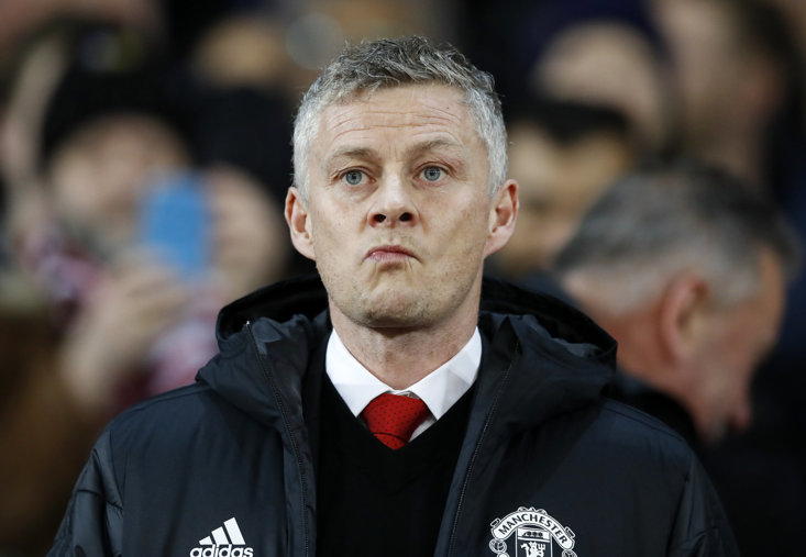 The first sniff of a domestic defeat for Ole Gunnar Solskjaer