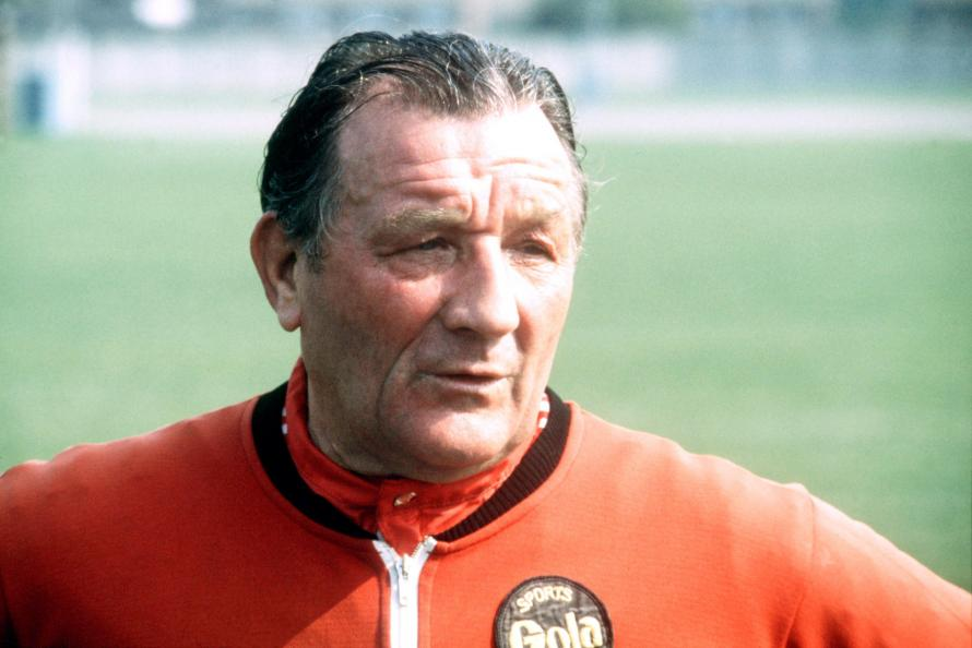 Legendary Liverpool manager Bob Paisley