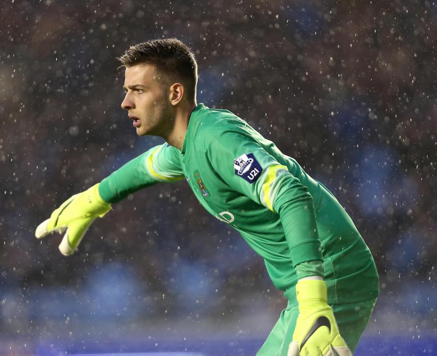 Angus Gunn on verge of £10m move from Manchester City to Southampton