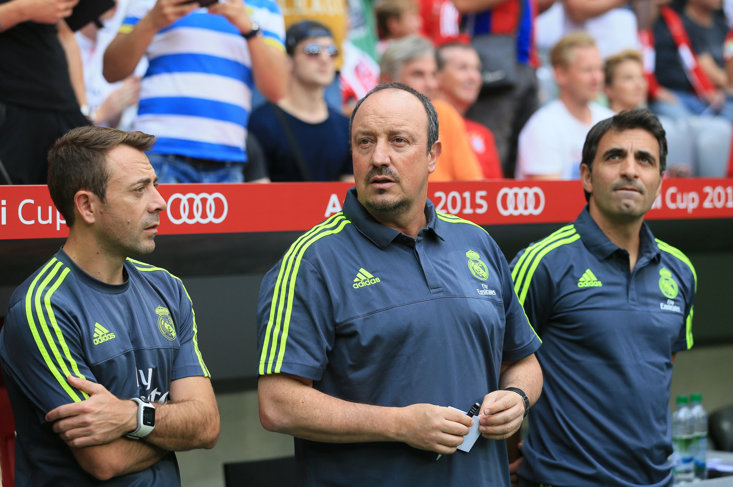 Rafa Benitez's spell as Real Madrid manager didn't quite work out