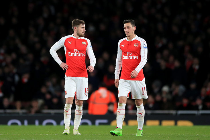 Both Aaron Ramsey and Mesut Ozil have been strongly linked with moves away from Arsenal