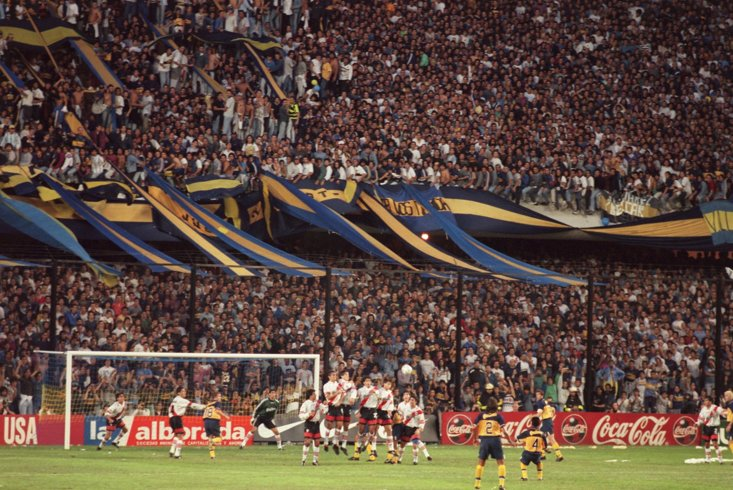 Boca Juniors v River Plate is one of the world's great rivalries