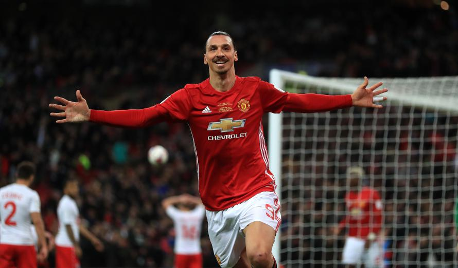 Zlatan Ibrahimovic spent just a year with Manchester United but he enjoyed his time at Old Trafford