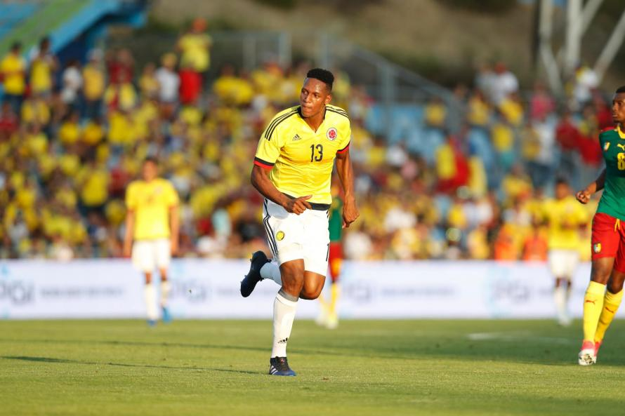 Image result for yerry mina barca