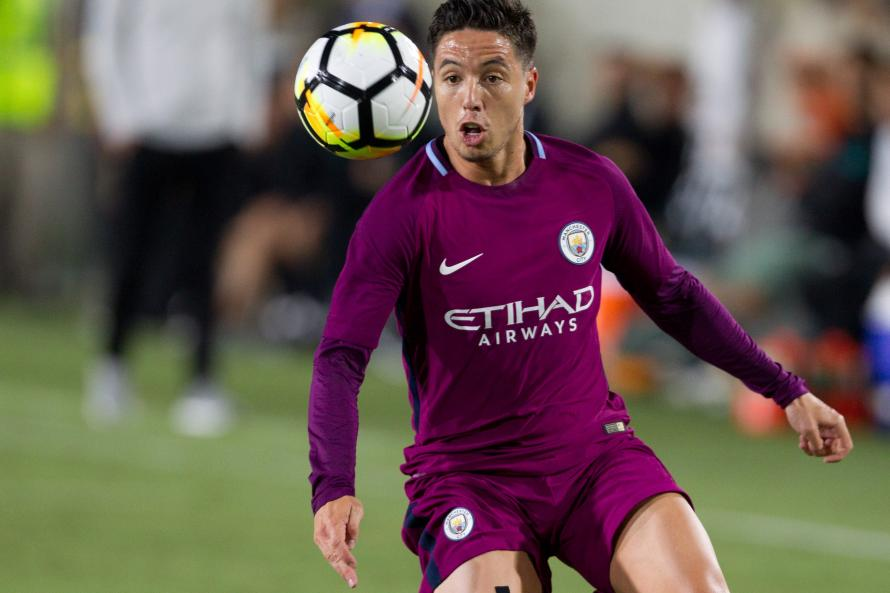 Samir Nasri doesn't appear to be in the plans of Pep Guardiola at Manchester City