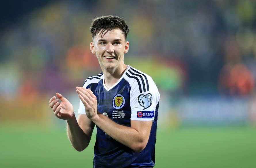 Kieran Tierney signs new six-year Celtic contract