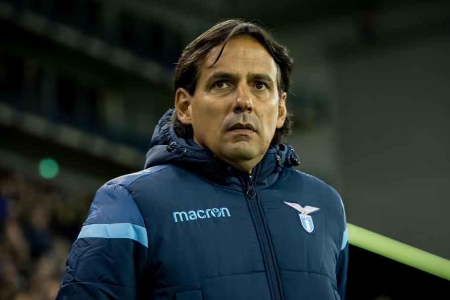 Simone Inzaghi is hoping to guide Lazio to victory over Juventus