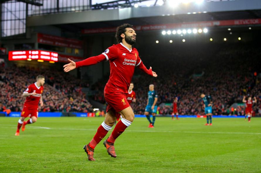 Red-hot Mo Salah shatters Robbie Fowler's record as Liverpool ease past Southampton