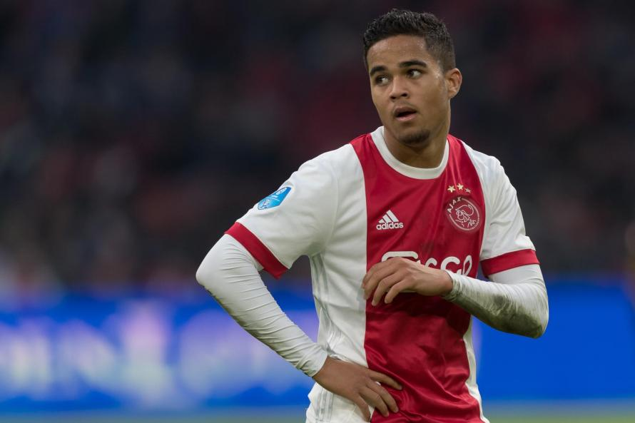 Justin Kluivert has been in outstanding form for Ajax this year