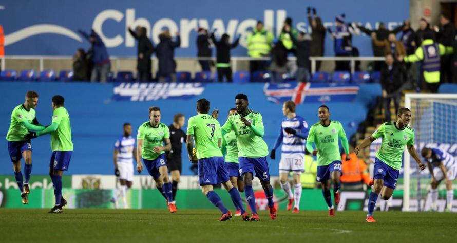 Reading 2-2 Cardiff: Late comeback denies Royals