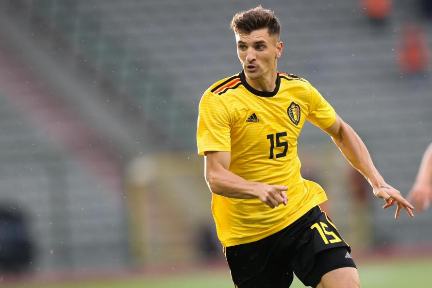 Defender Thomas Meunier may not be a first choice for club but he is for country
