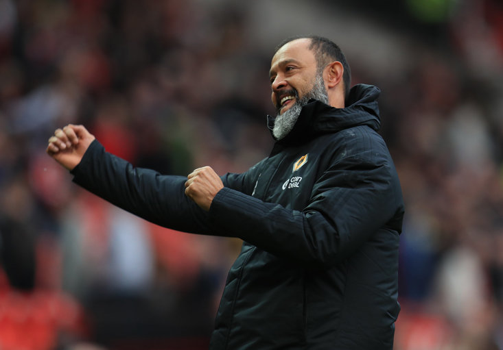 Nuno Espirito Santo and Wolves welcome Man Utd in the FA Cup this weekend