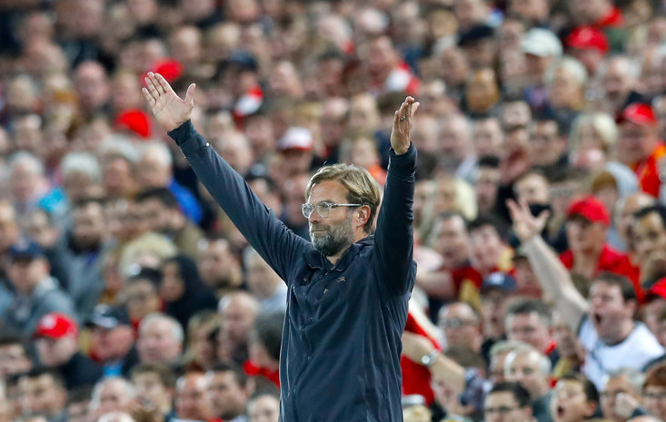 Liverpool manager Jurgen Klopp will be happy to have a certain member in his starting XI