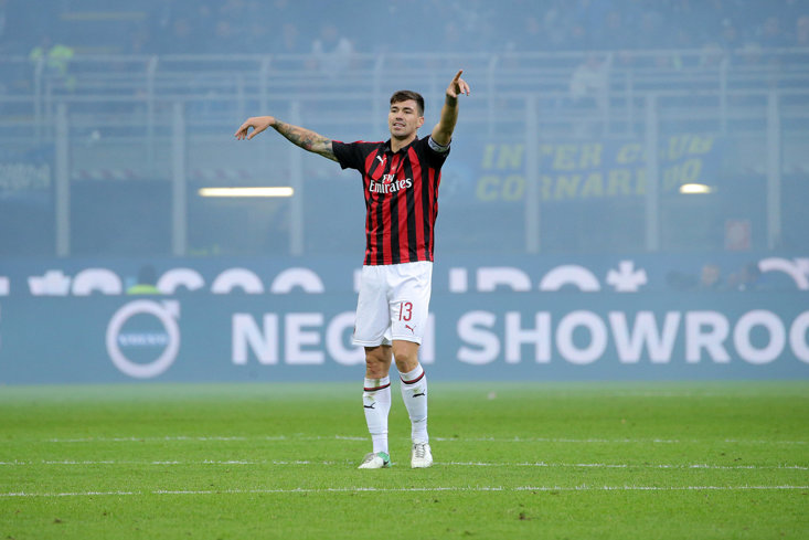Alessio Romagnoli has been in superb form for AC Milan this season