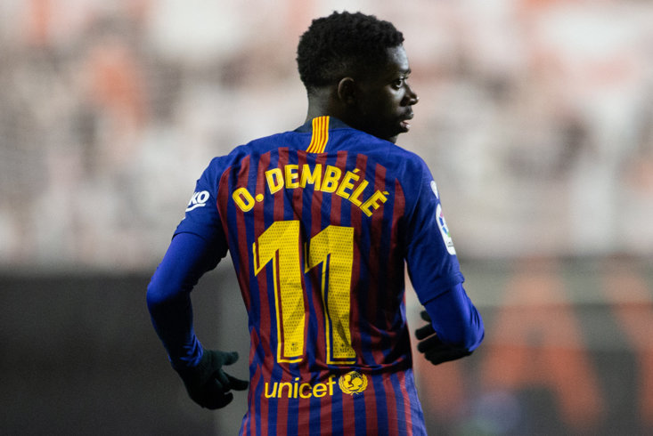 More problems at Barcelona for Ousmane Dembélé