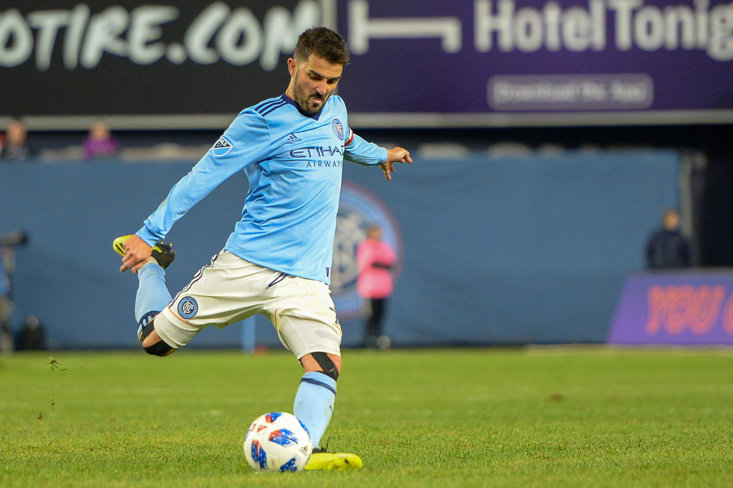 David Villa has announced he will leave New York City at the end of the year