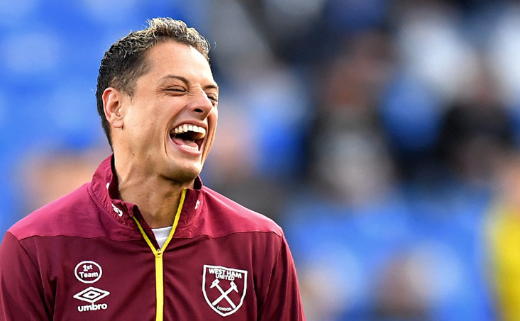 Former Red Devil Javier Hernandez has been at West Ham since Summer 2017