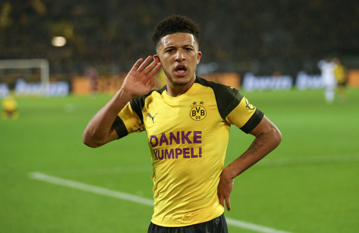 Who could follow Jadon Sancho to Germany?