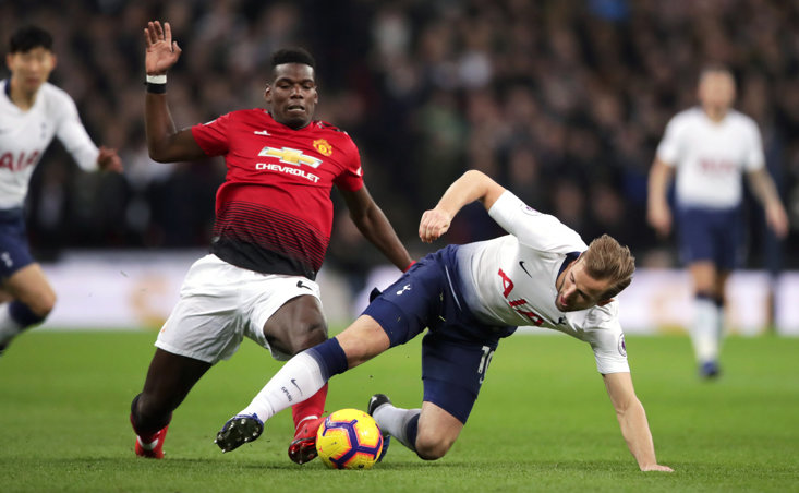 Paul Pogba has been sublime against Spurs