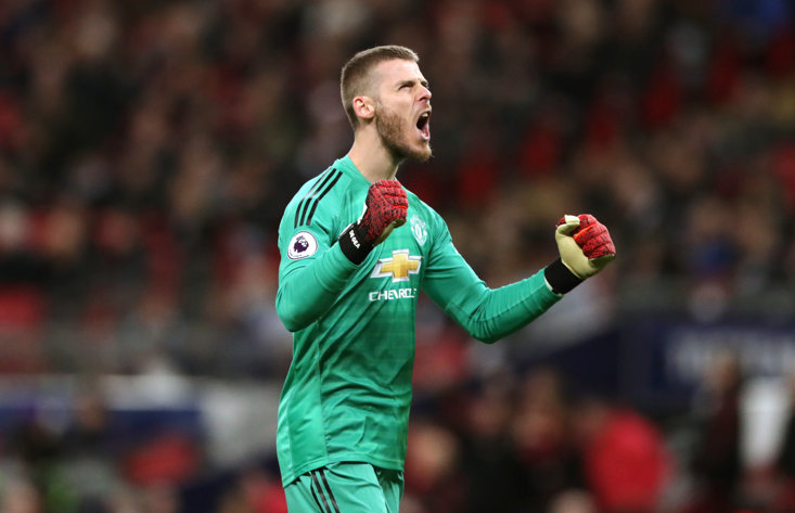 David de Gea was in inspiring form at Wembley on Sunday