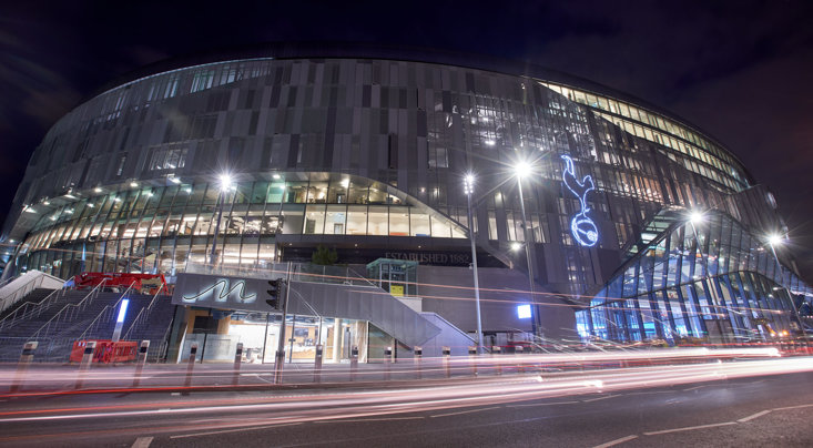 Spurs' new stadium to open in April
