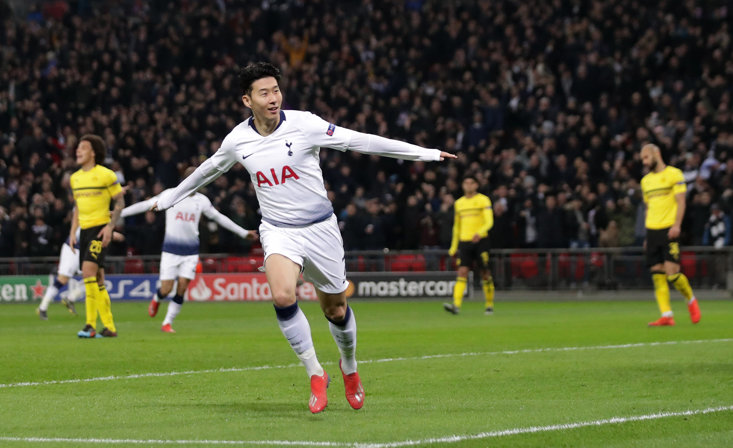 What a night for Spurs and Son!