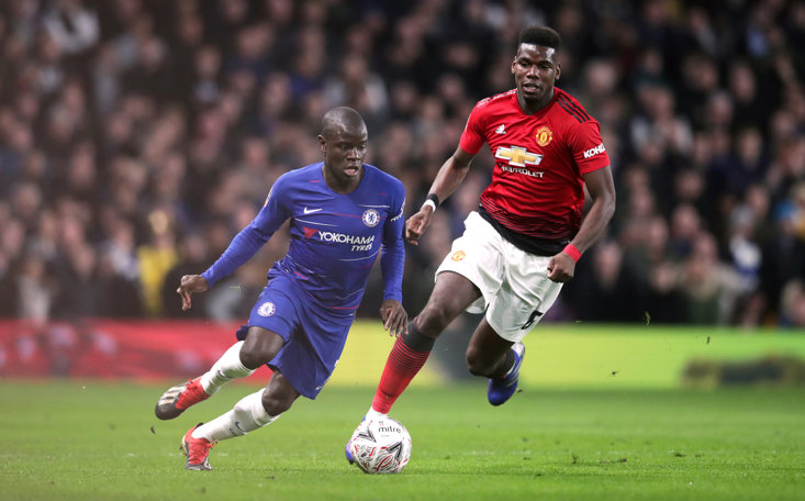 Paul Pogba produced a sensational assist in first half of Chelsea FA Cup clash