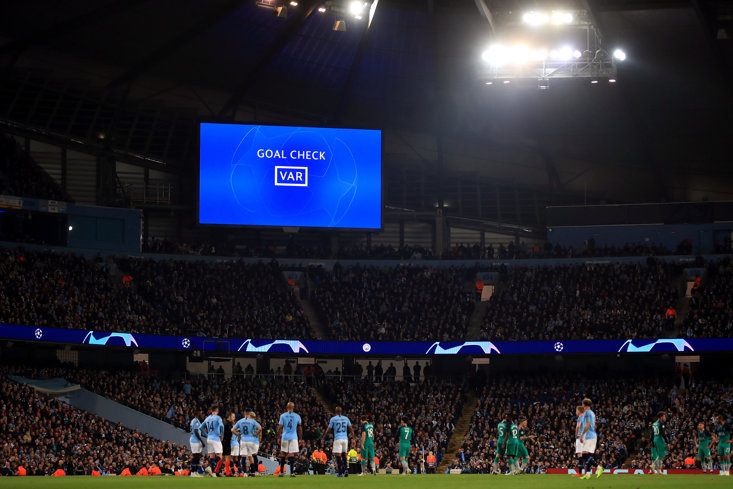 VAR took centre-stage in the Champions League this week, to Man City's detriment