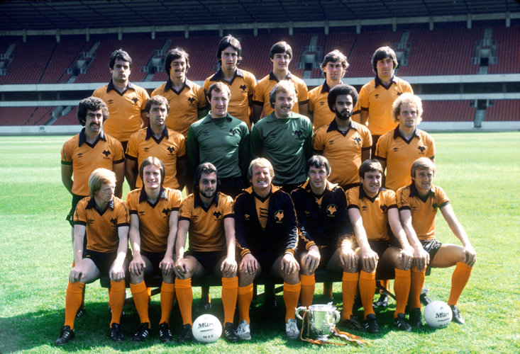 The 1980/81 Wolves side, the last to feature in Europe until 2019.