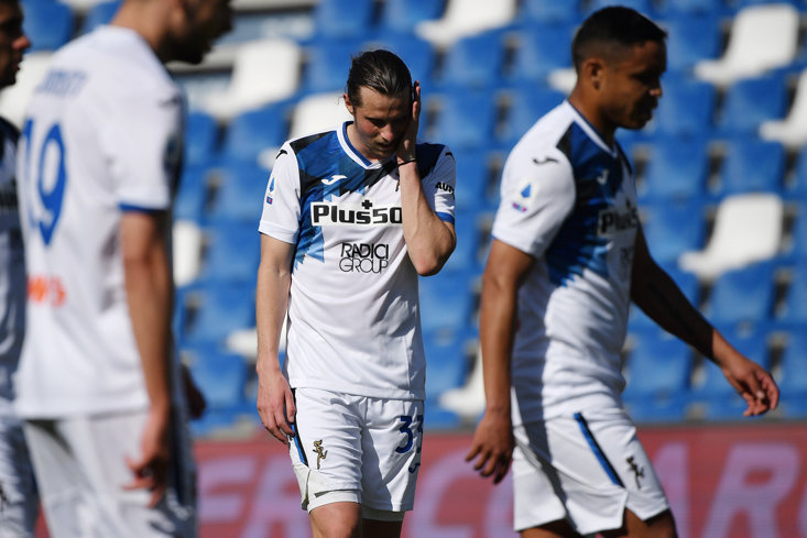 Atalanta fail to beat Sassuolo on Sunday