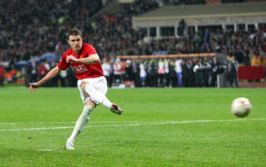 Now Wayne Rooneys Gone Michael Carrick Remains The Last Man Standing From Manchester United Champions League Winners Of 2008