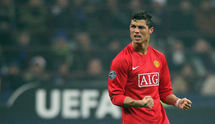 Juventus CR7 comes face to face with his old club Manchester United