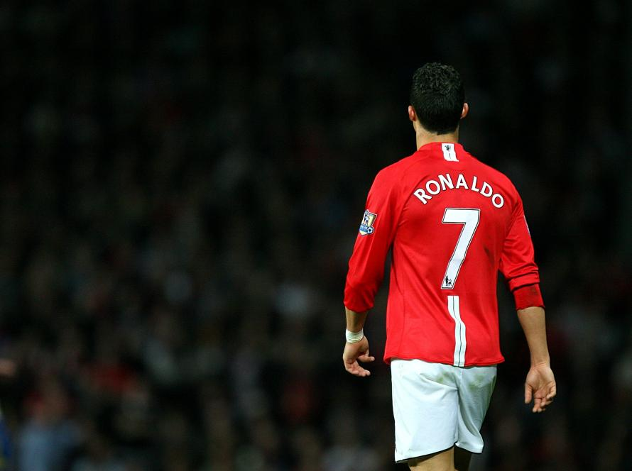 online retailer 112f6 d2b59 cristiano ronaldo manchester united jersey