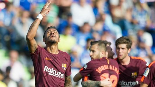 Paulinho boasts flawless strike rate after snatching Barca win at Getafe