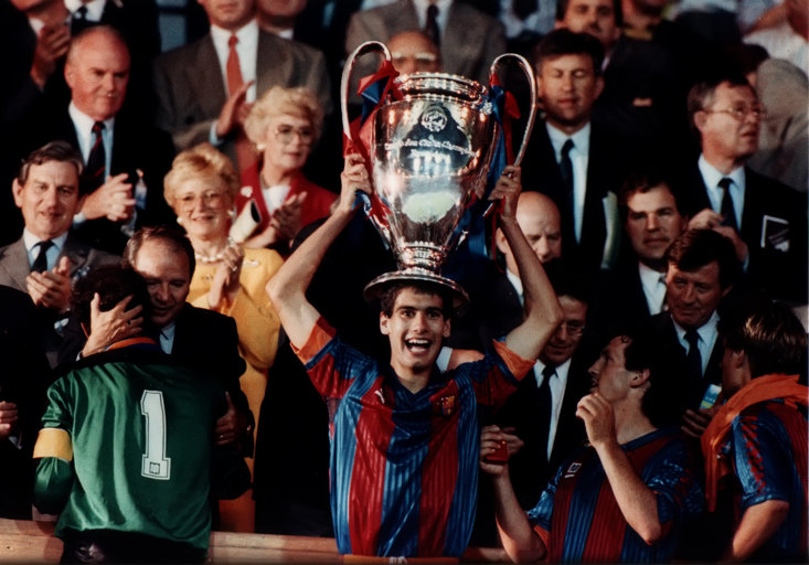 Pep Guardiola won 28 trophies as a player, then manager, of Barcelona