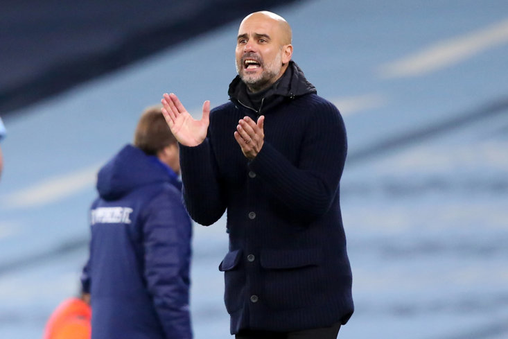 PEP GUARDIOLA INSISTS HIS CITY TEAM HAVE TO GO FOR IT IN DORTMUND