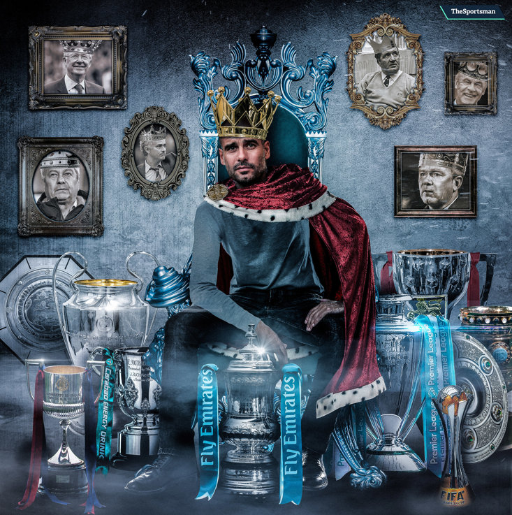 27 trophies and counting for Pep Guardiola