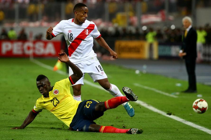 Peru Take On New Zealand For A Place At Russia 2018