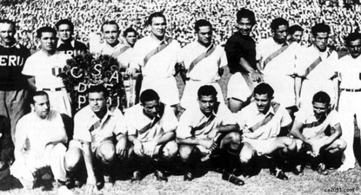 Greenwell created history when he led Peru to glory at the 1939 Copa America