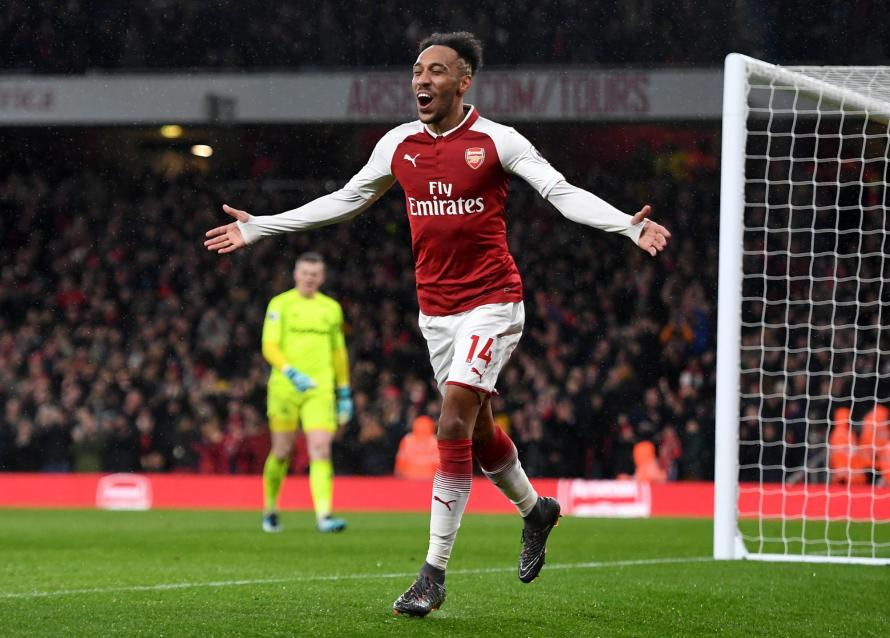 Image result for Pierre-Emerick Aubameyang arsenal