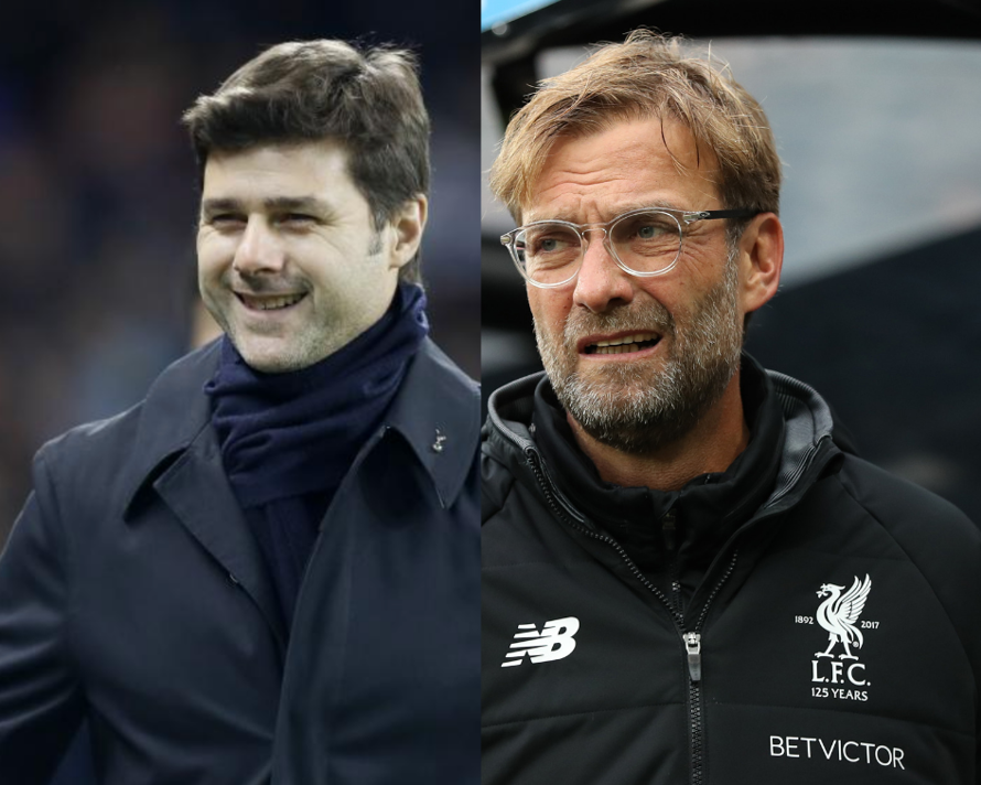 Mauricio Pochettino and Jurgen Klopp face off at Wembley this Saturday lunchtime