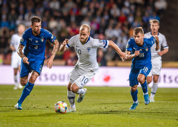 Norwich City's Teemu Pukki has seven goals in his last six European qualifiers for Finland