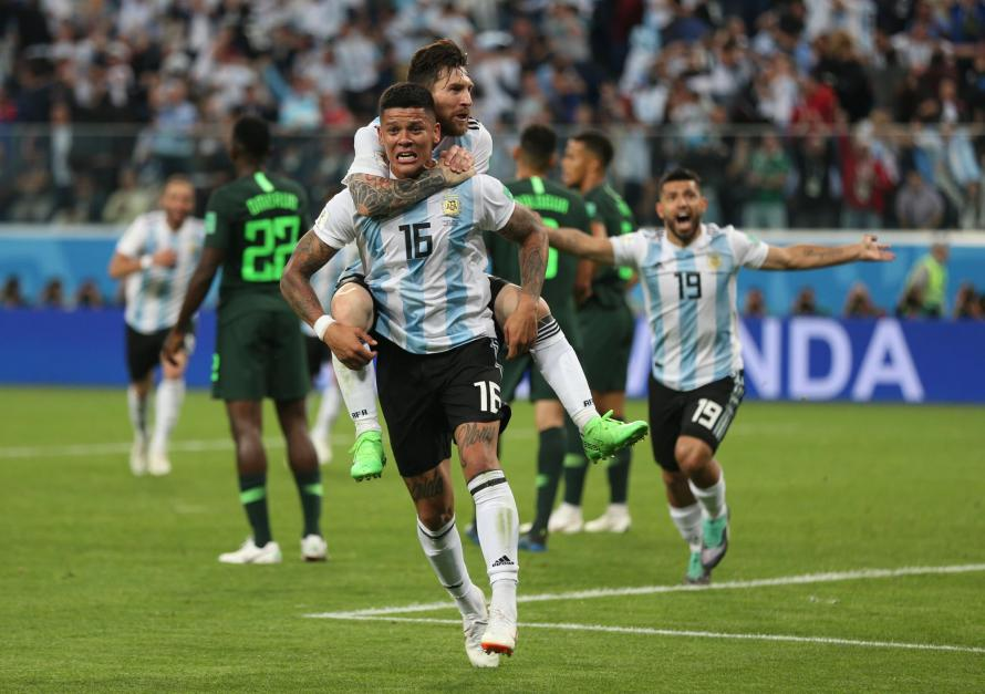 Argentina's Win Over Nigeria Scatters Russian Family